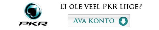 Ava PKR konto ja saa 30% rakebacki!