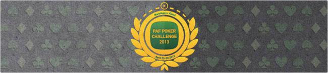 Vaata Paf Poker Challenge live-videoülekannet