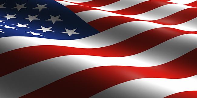 Ameerika Ühendriikide (USA) lipp