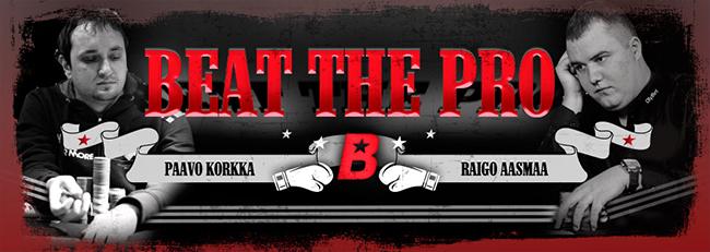 Olybet Beat the Pro bontyud - Raigo Aasmaa ja Paavo Korkka