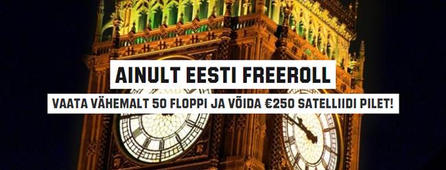 Unibeti lühikampaania eestlastele: €350 väärtuses Unibet Open satelliitide pileteid