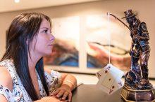 FOTO: Avaturniirilt teise koha ja 3500 eurot teeninud Eesti parim naismängija Carmen-Elina Vist on ka üks põhiturniiri võidukarika pretendente.