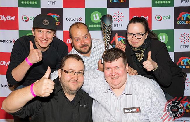Eesti Meistrivõistlused Pokkeris 2018 võistkondllku turniiri võitsid tartlased