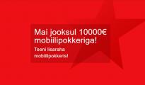 Mängides maikuus OlyBet'is pokkeri mobiilis või tahvelarvutil, saad kuni €13 koheselt kontole.