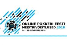 Online Pokkeri Eesti Meistrivõistlused 2018 - ajakava, toimumisajad ja - kohad
