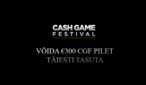 Cash Game Festival Tallinn Freeroll